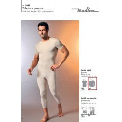 Corpo uomo m/l 2446 m/lana 3/6 Madiva